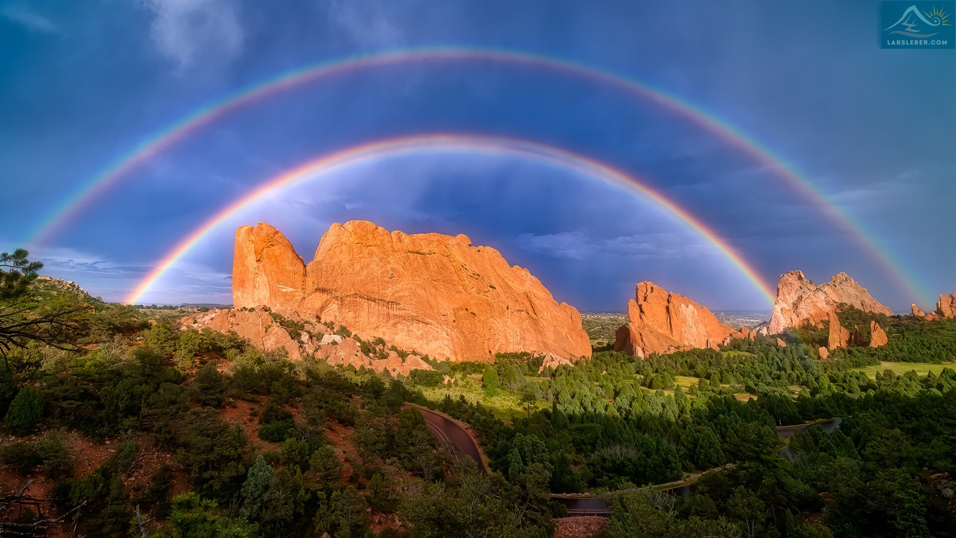 Garden of the Gods Double Rainbow Lars Leber Photography.jpg