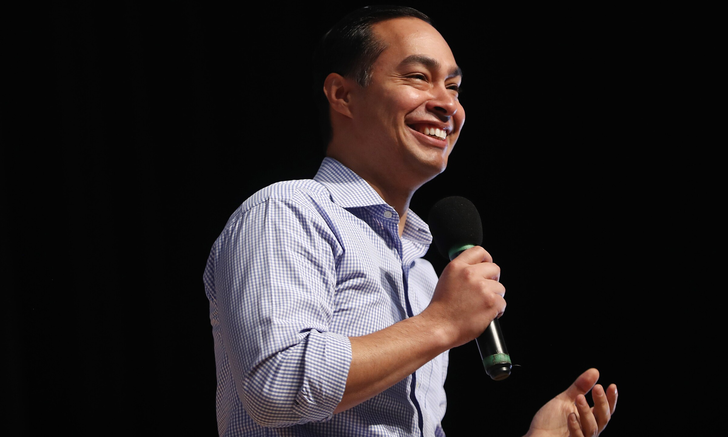 Julian Castro is a former U.S. housing secretary with the Obama administration who announced his candidacy Jan. 12, 2019.