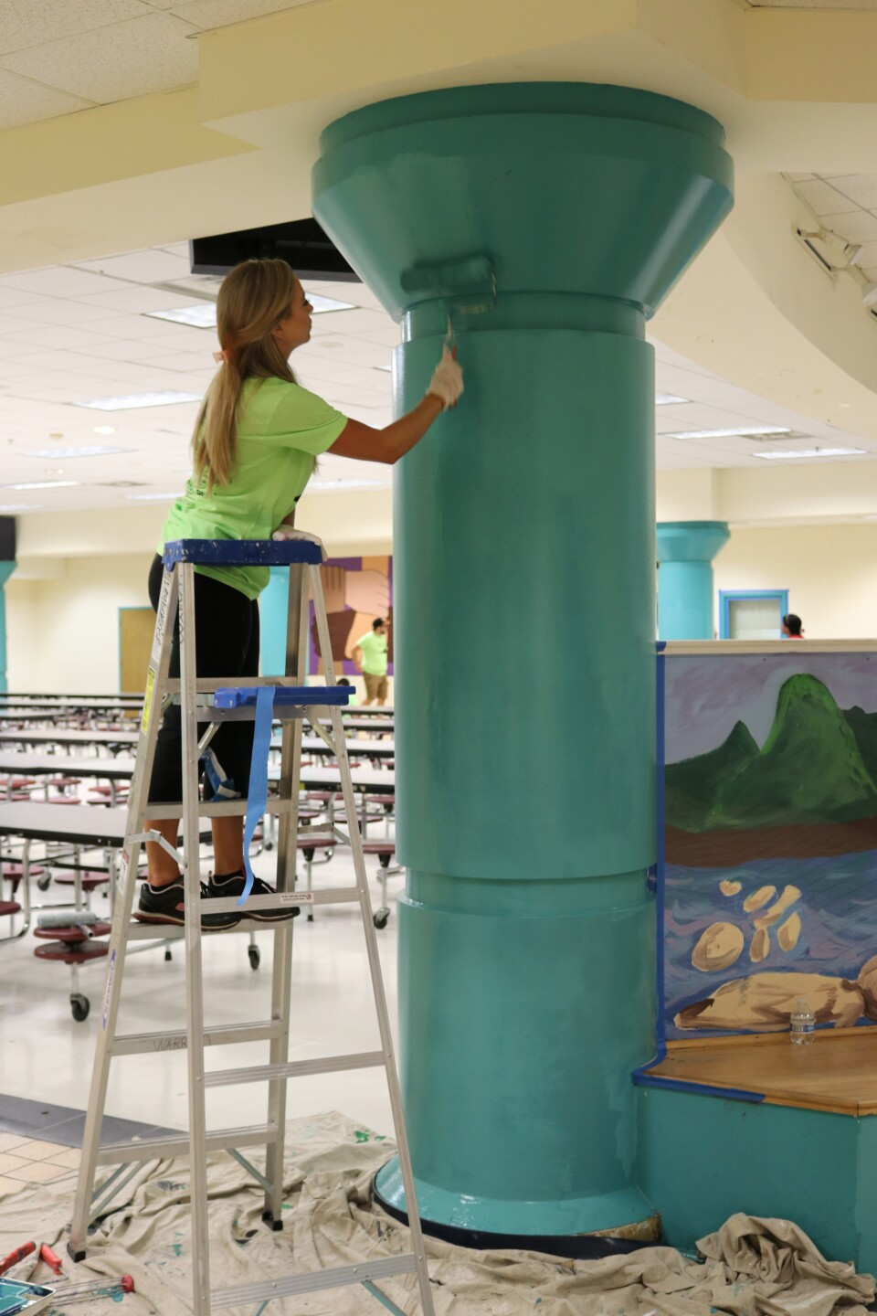 Photos: What volunteers did at 3 Richmond schools to 'empower and encourage' connection