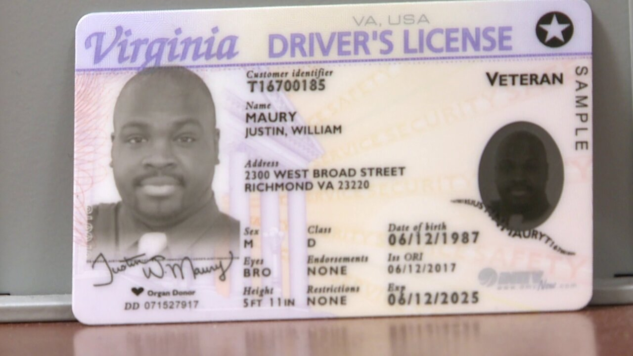 Here's what you need to get a Real ID inVirginia