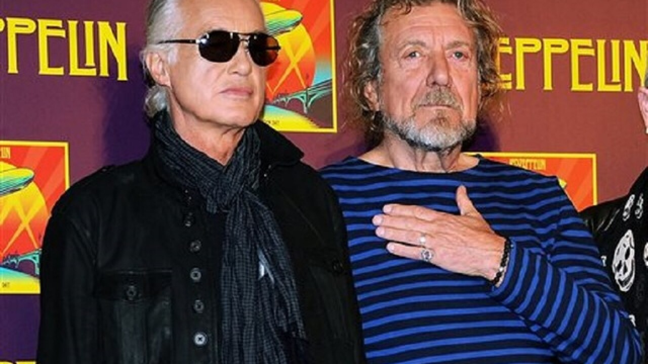 Jury could rewrite history of Led Zeppelin's epic 'Stairway'