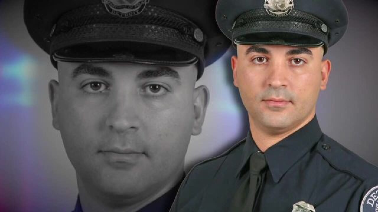 Funeral today for fallen DPD officer Fadi Shakur