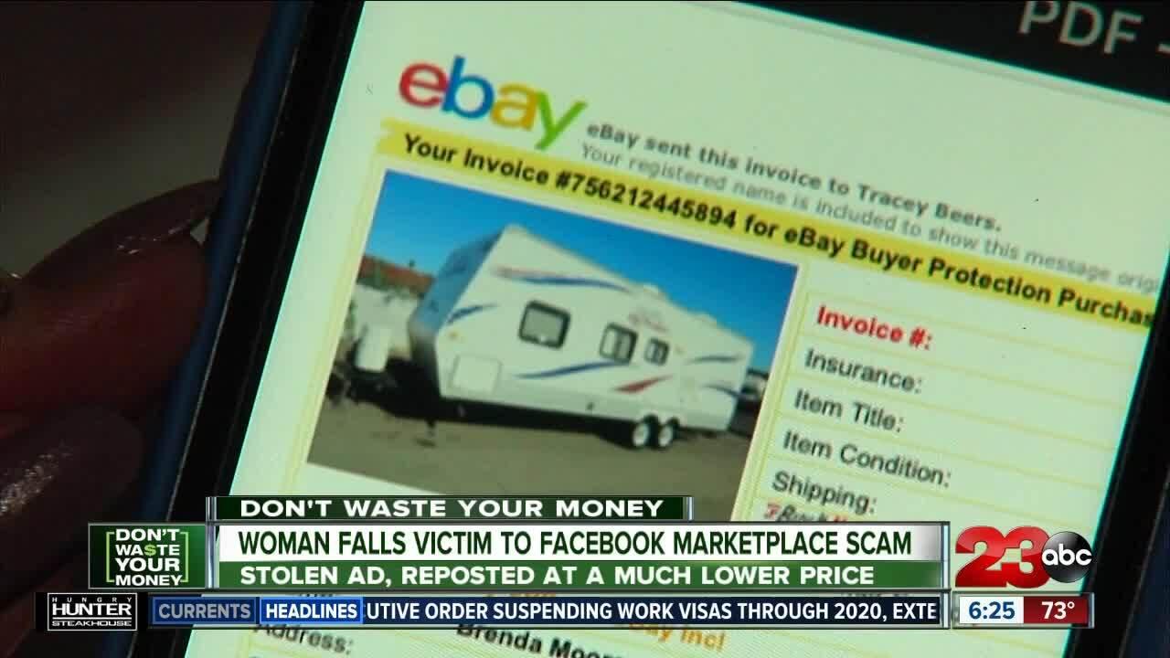 Facebook Marketplace Scam