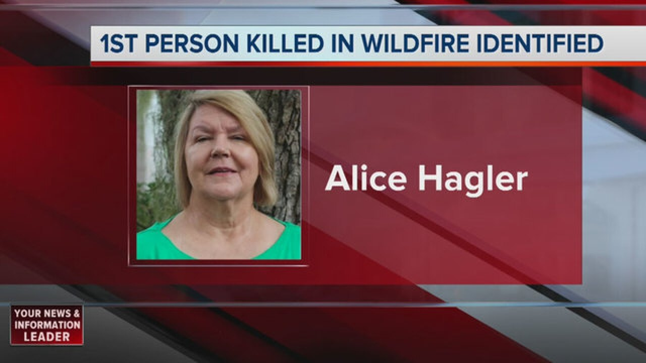 4th Death Confirmed In Sevier County Wildfires