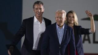 California Recall Newsom Joe Biden