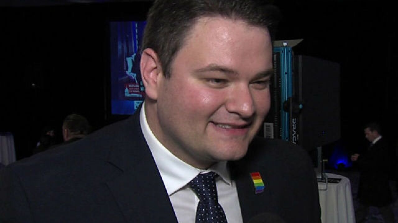 J.D. Ford elected Indiana's first openly gay lawmaker