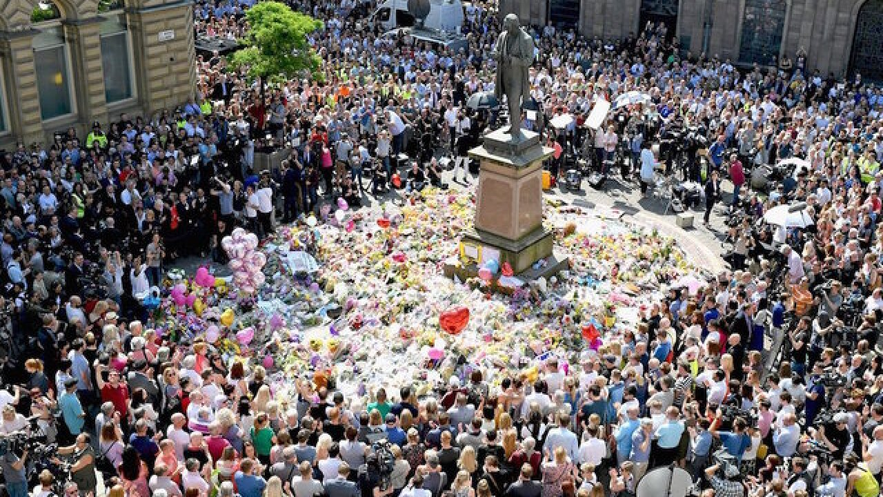 Prince William leads tributes on anniversary of Manchester concert bombing that killed 22