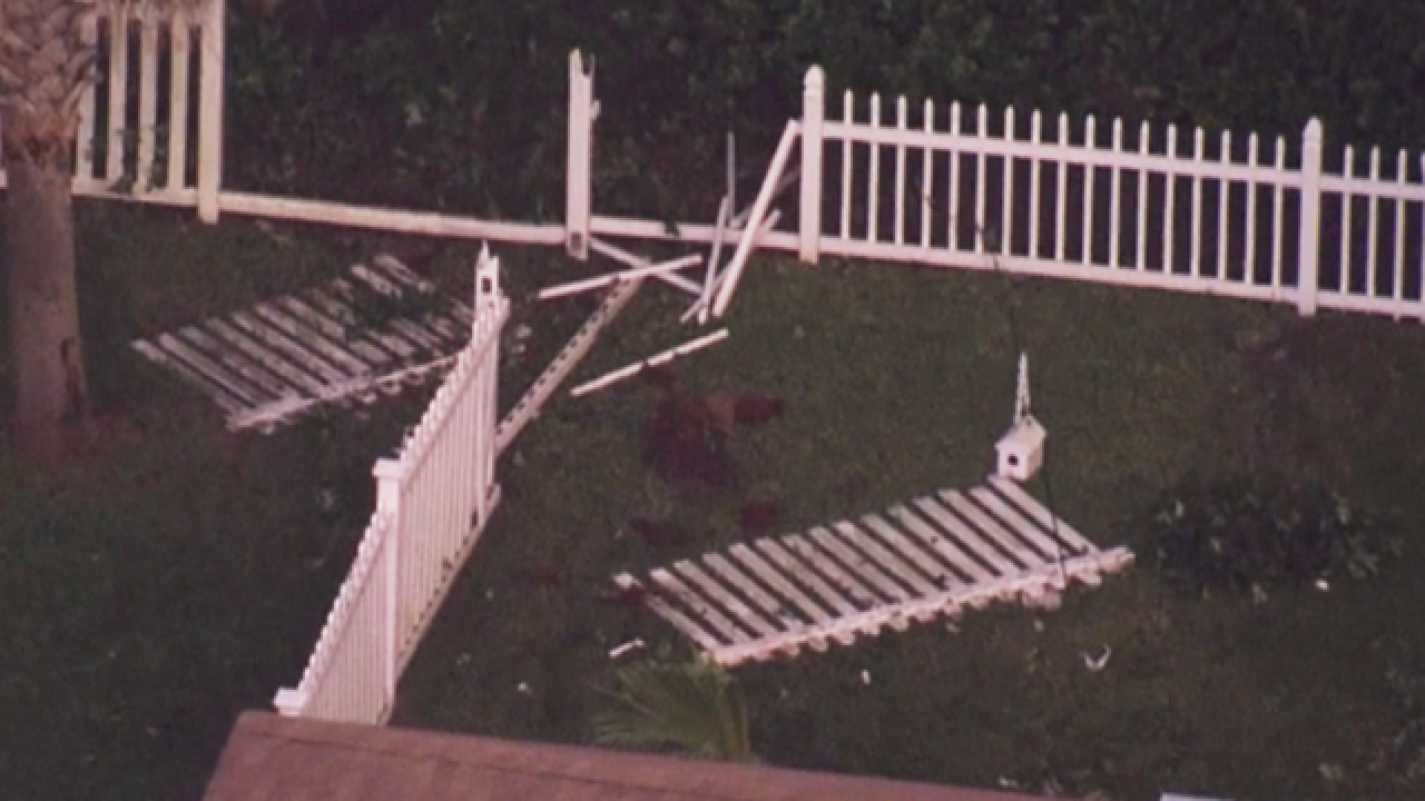Car crashes into home in Riverview