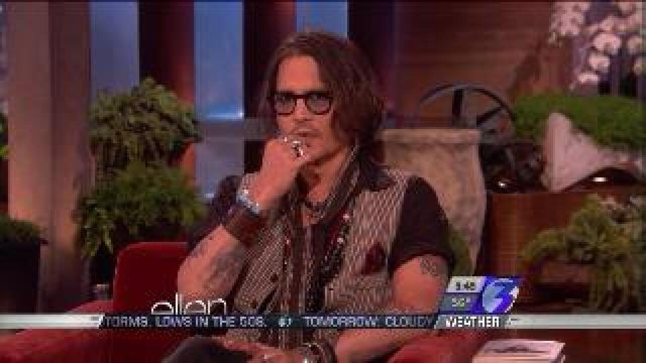 Today on Ellen – Johnny Depp is a special guest