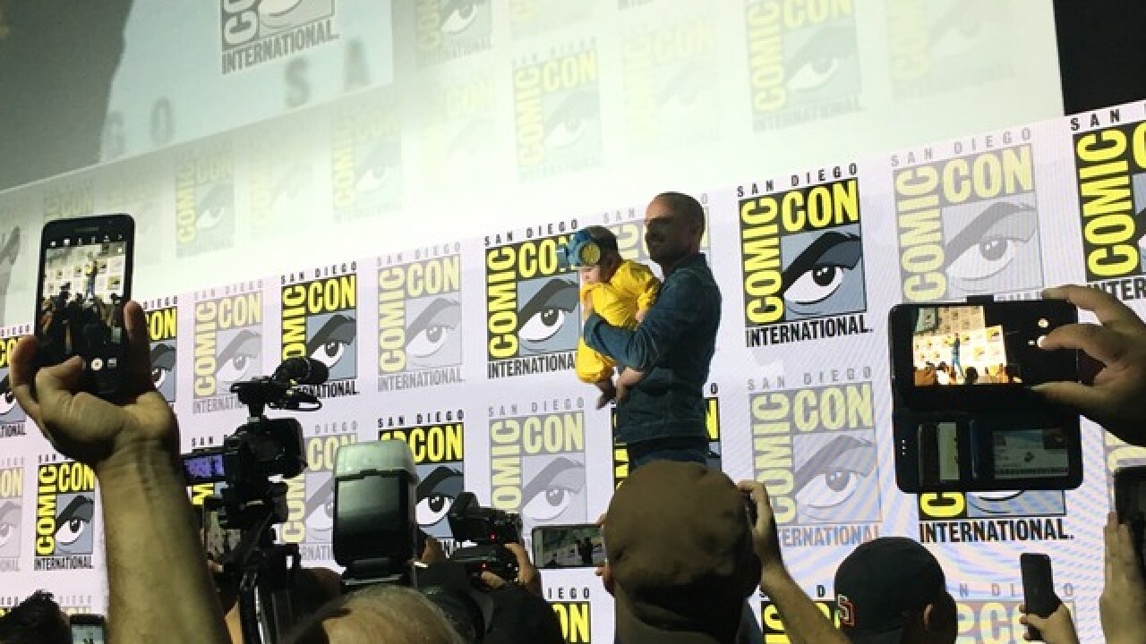 'Breaking Bad' reunion features star's baby