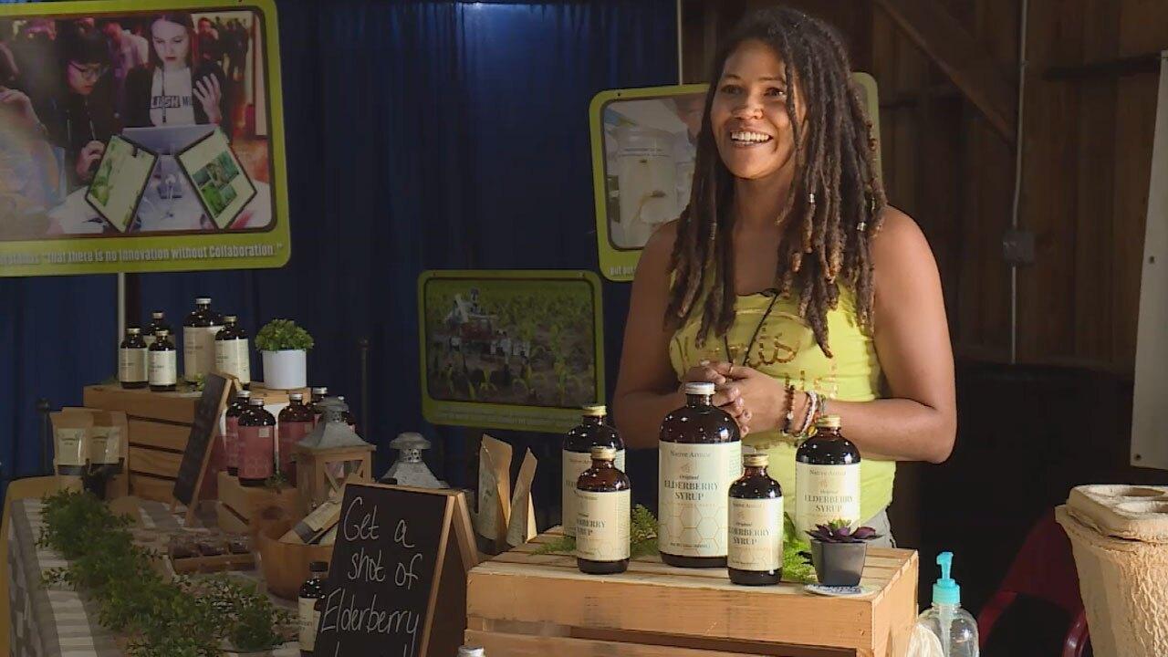 Ashley Lancelot, South Florida Fair vendor