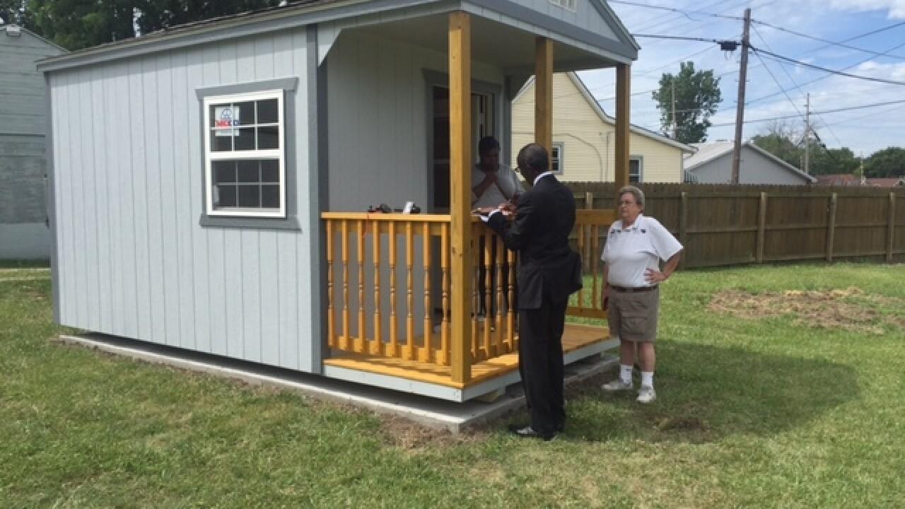 PHOTOS: Tiny houses for Muncie's homeless