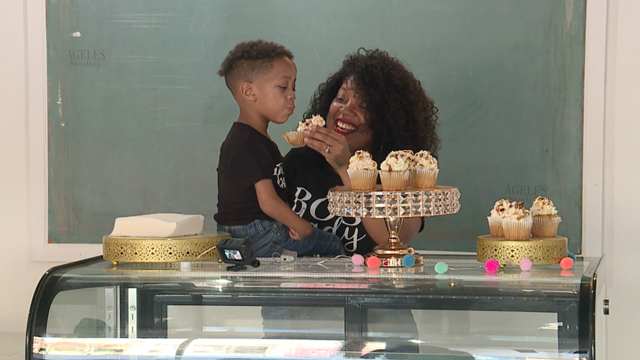 Cleveland mom steps out on faith amid pandemic to open bakery storefront