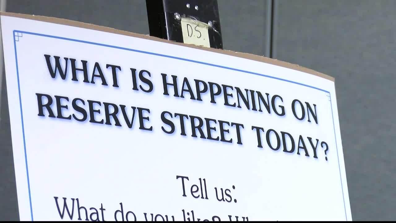 Reserve Street Input Meeting