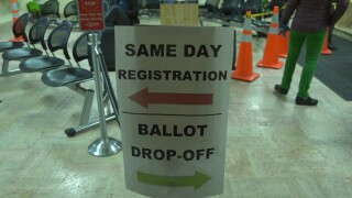 Montana same-day registration law challenged
