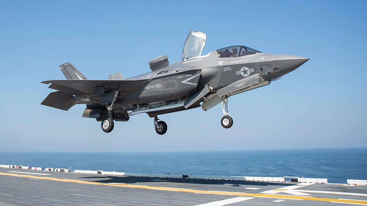 F-35B testing continues aboard the USS Wasp