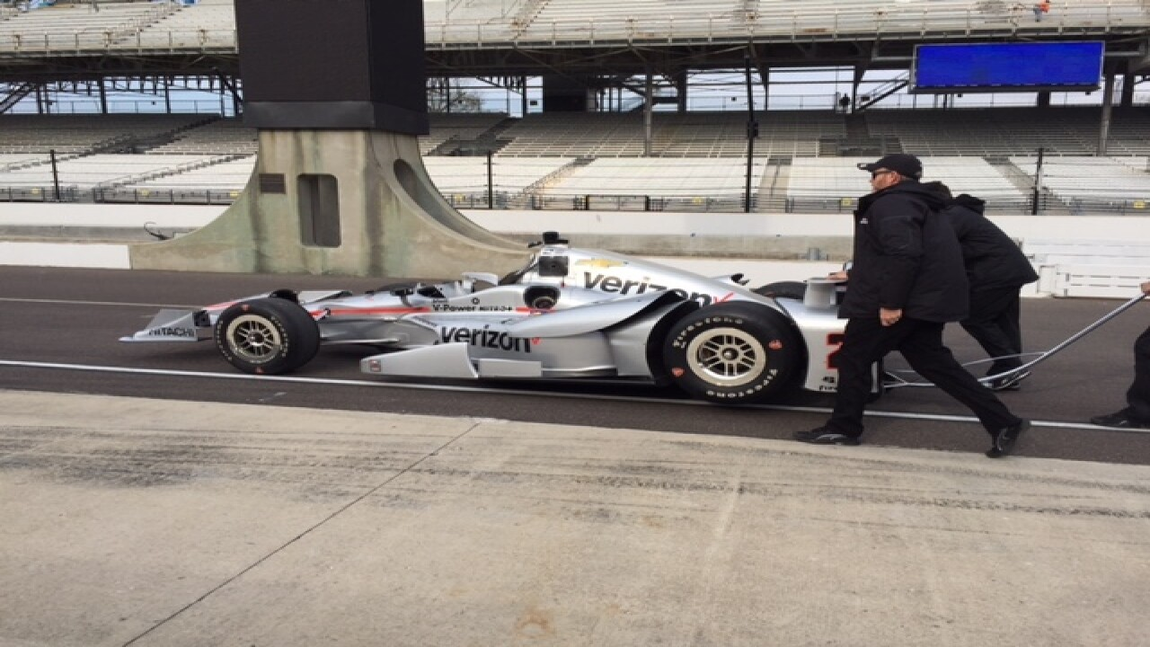 PHOTOS: Test day at IMS