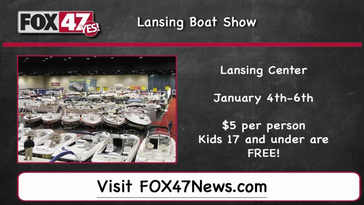 Around Town kids Lansing Boat Show