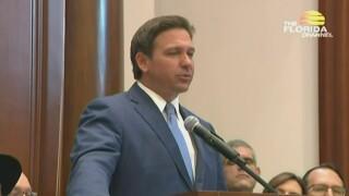 Florida Gov. Ron DeSantis holds a news conference at The Shul of Bal Harbour in Surfside on June 14, 2021.jpg