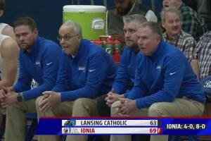 Ionia 69, Lansing Catholic 63