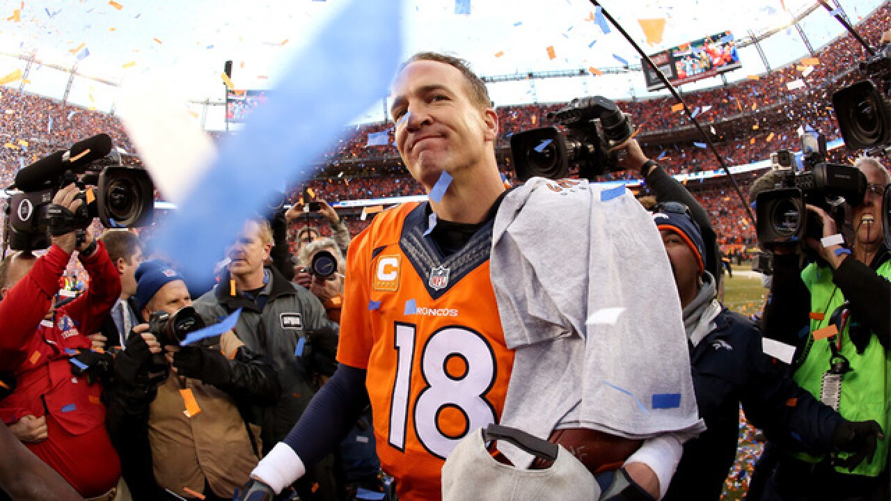 Read Broncos announcement on Manning retirement