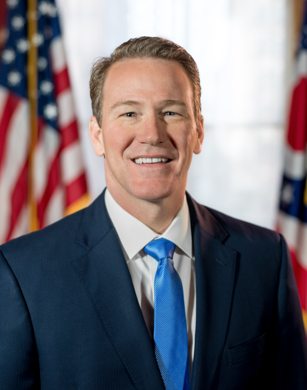 OH Lt. Gov. Jon Husted said the state is working to root out fraudulent unemployment claims.