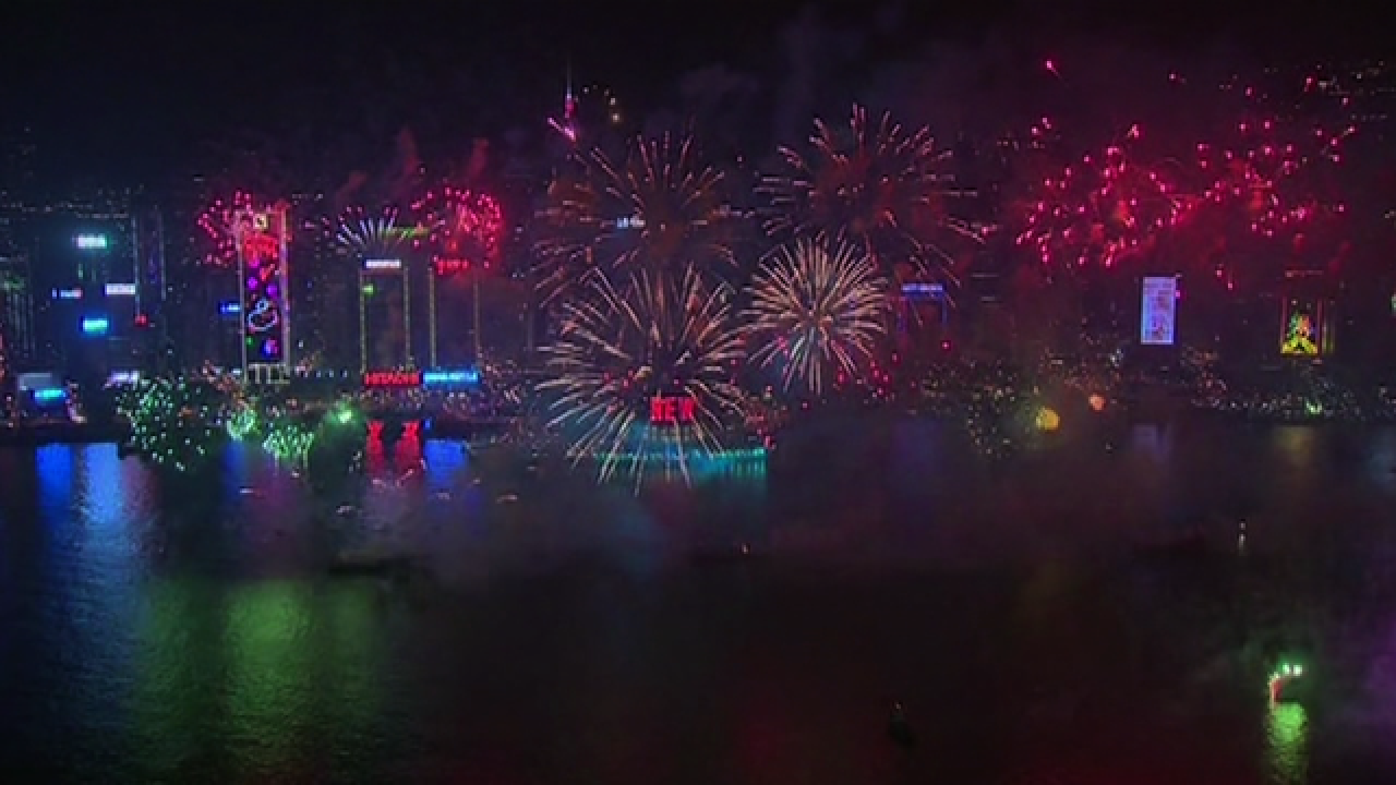 PHOTOS: New Year's celebrations across the world