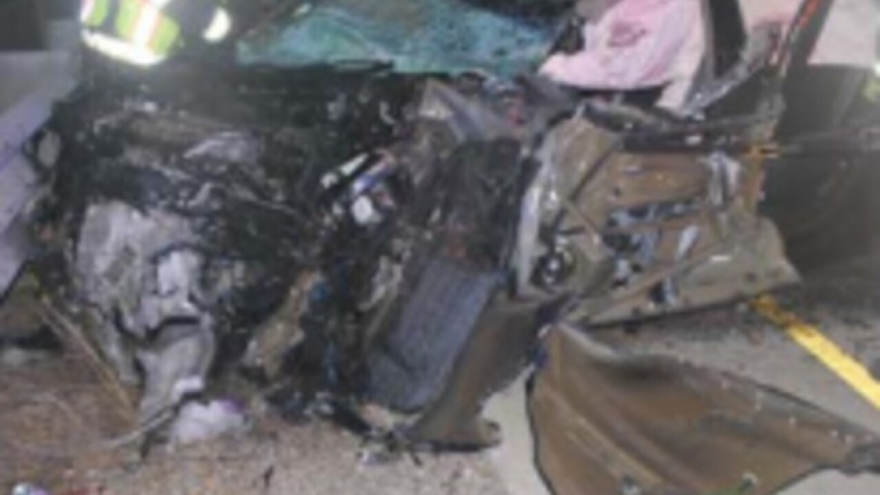Wrong-way drunken driver crashes into semi