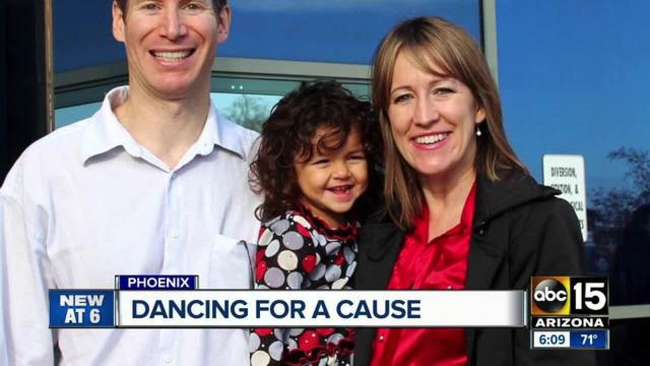 Adopted foster kids dance to raise funds