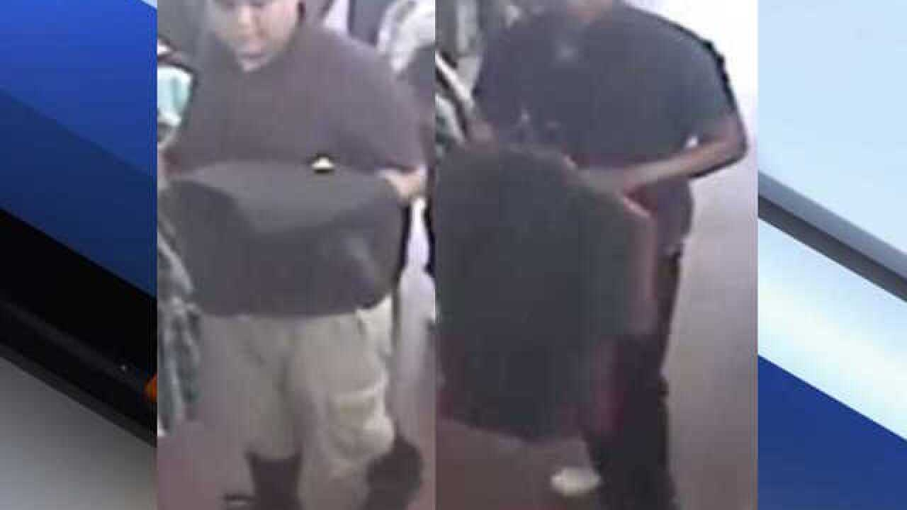 Police: Men steal clothes from west Phoenix store, push employee