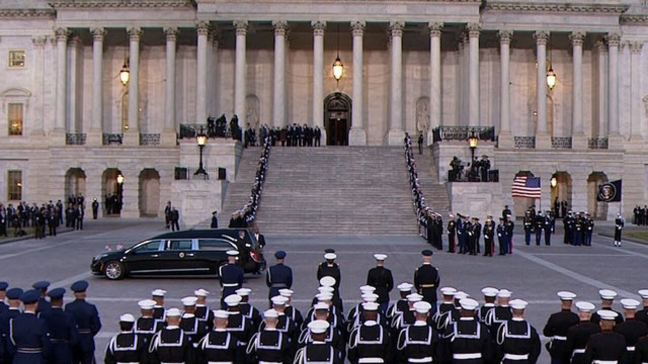 Bush family plans to avoid Trump criticism at funeral, WSJ reports