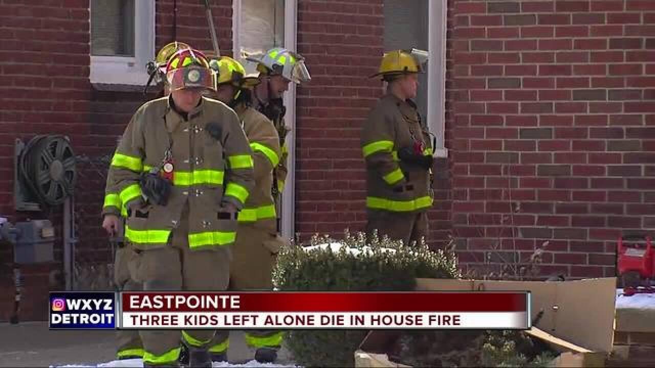 Three Dead In Eastpointe House Fire