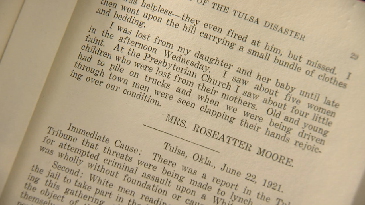 Excerpt from Roseatter Moore, Brenda Nais-Alford's great-grandmother