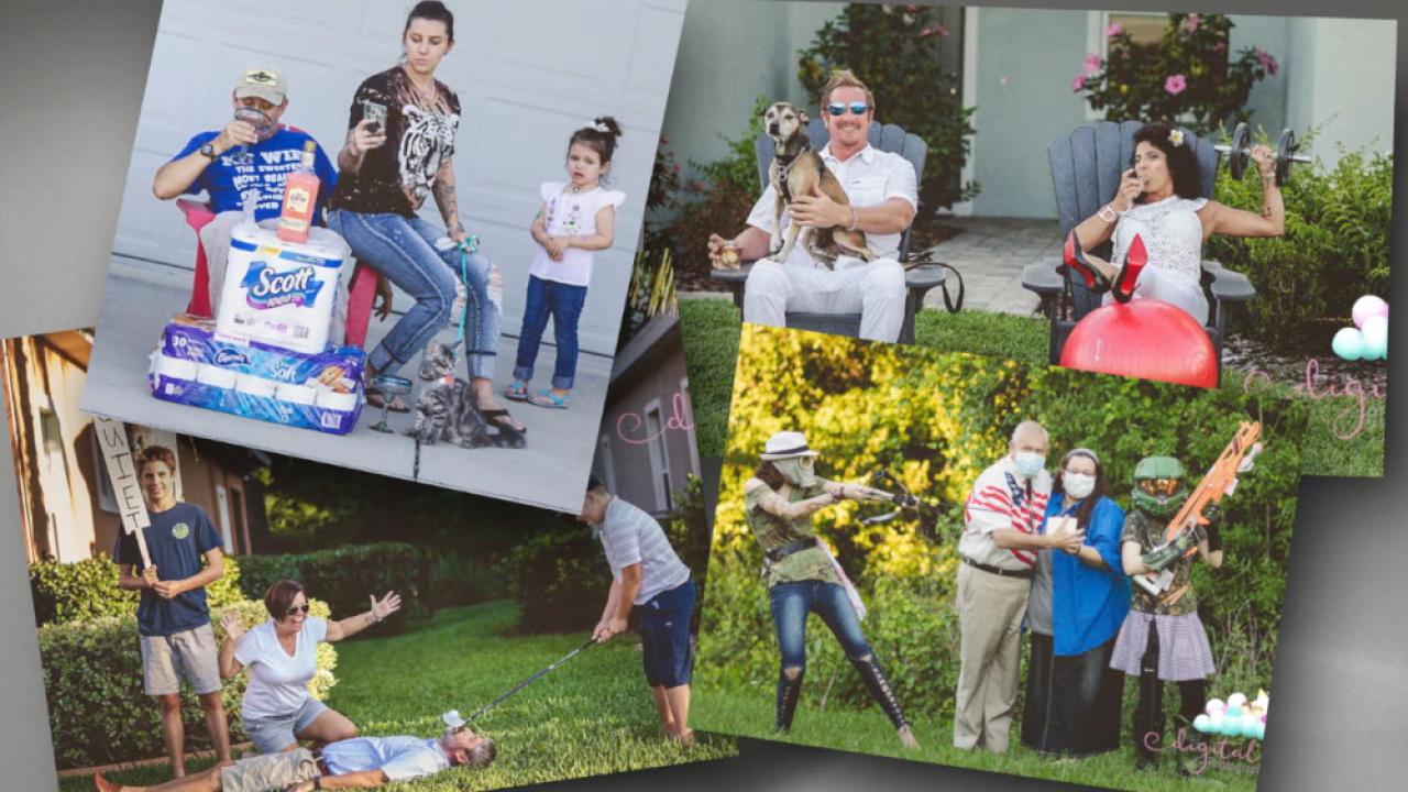 quarantine family photos