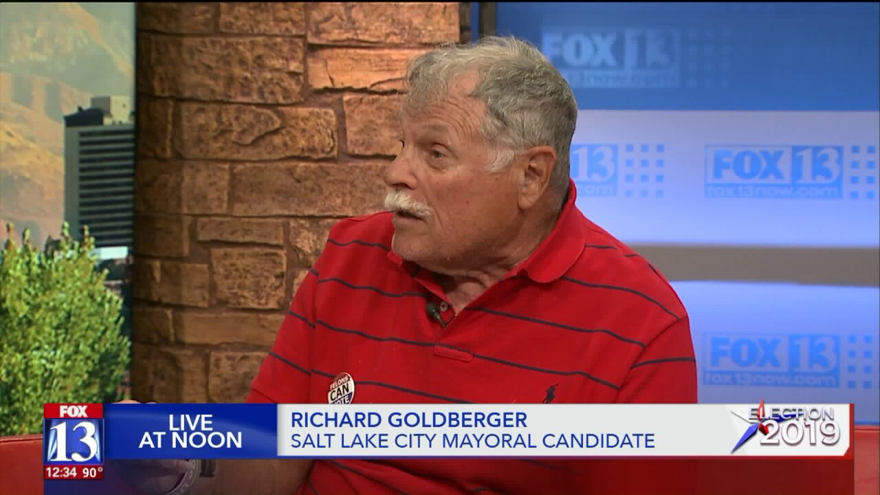 Richard Goldberger discusses his bid for Salt Lake CityMayor