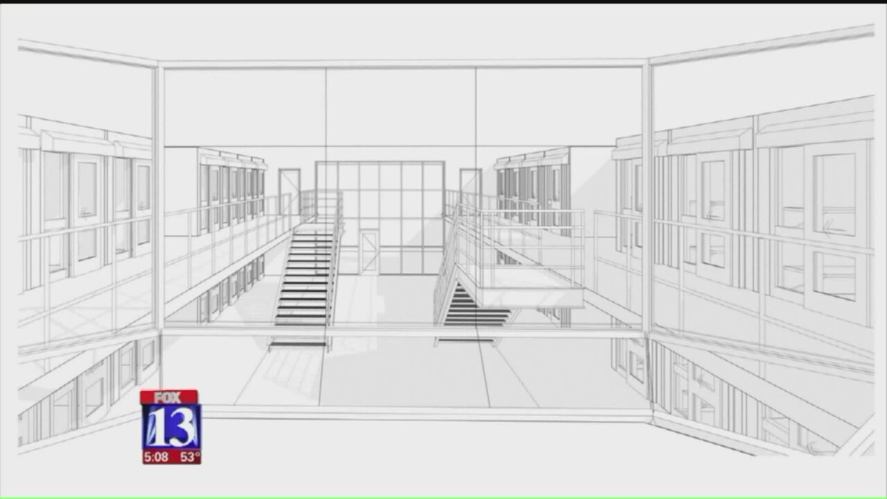Utah State Prison design revealed with explanation of new managementstyle