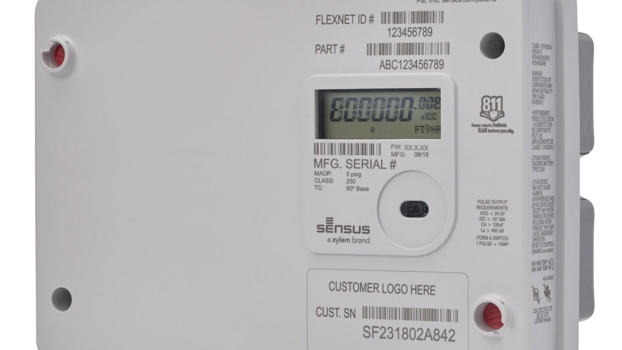 New Sensus Sonix IQ Gas Meter Goes Beyond Measuring With Smart Sensing