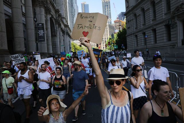 Photos: 'Families Belong Together' protests across U.S.