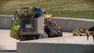 What happens to the 3,000 shopping carts taken from Utah stores eachmonth?