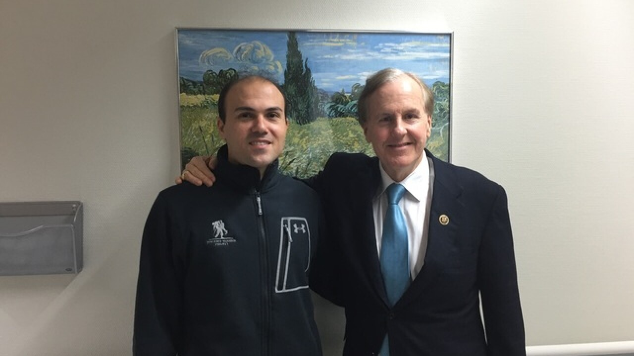 N. Carolina lawmaker meets with Saeed in Germany