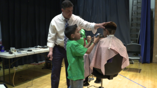 Denver elementary school opens barbershop to teach students the growing trade