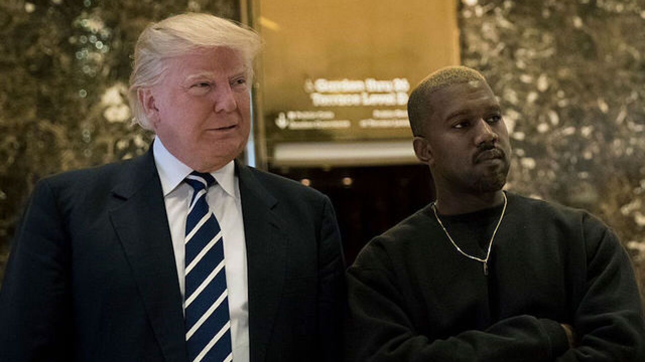 Kanye West goes on a Trump rant from 'SNL' stage as show ends