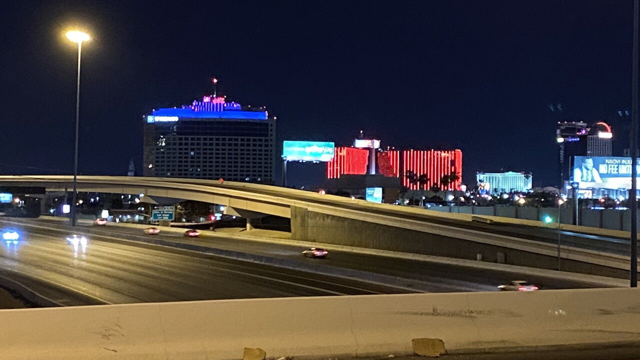 Las Vegas casinos have been shut down for the better part of two months as neighboring Arizona casinos reopen.