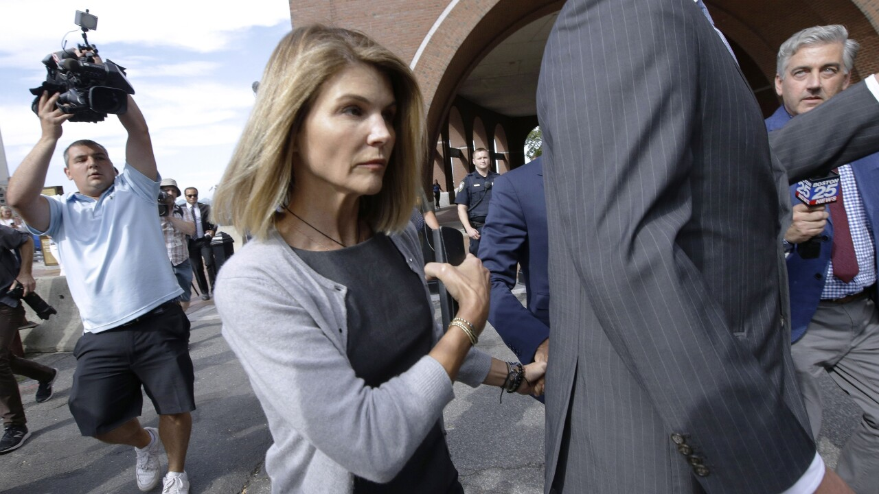 Lori Loughlin reports to prison to begin 2-month sentence for admissions scam