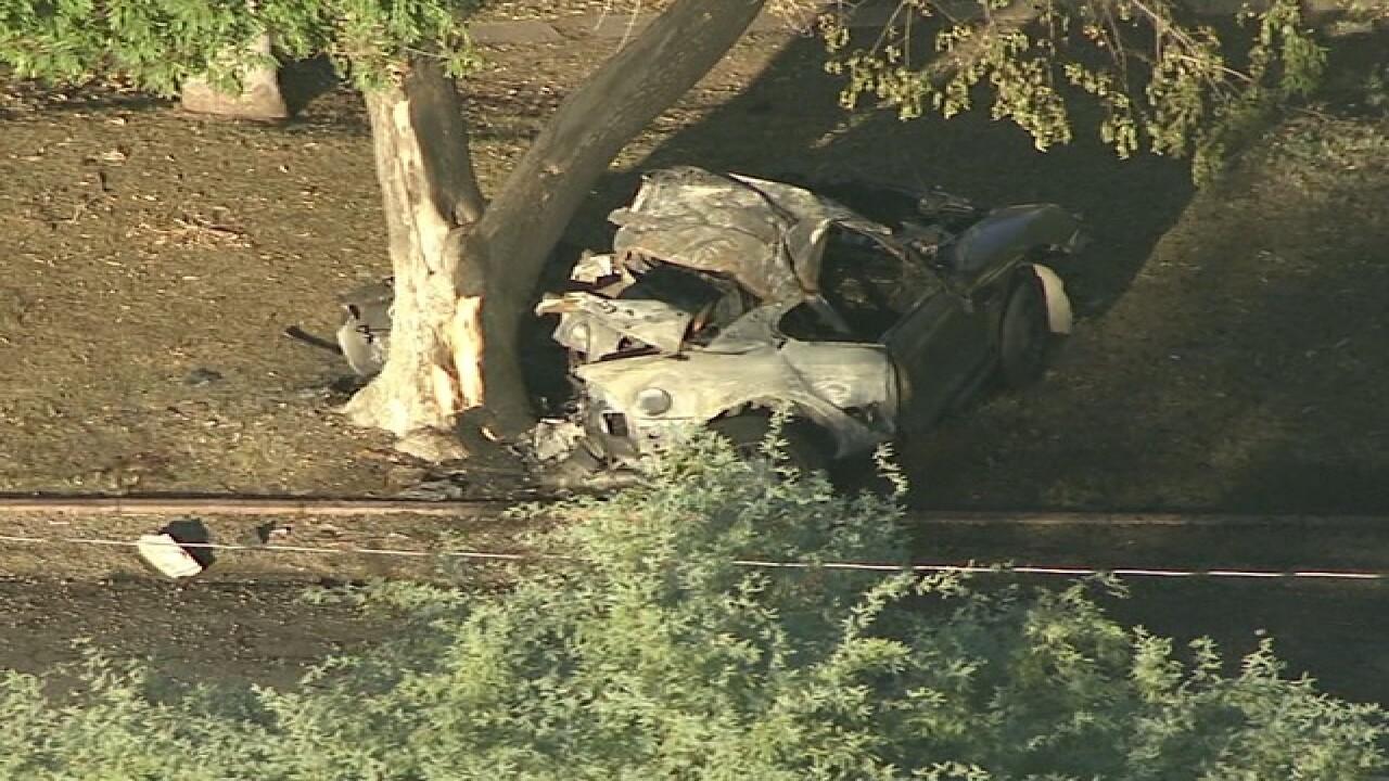 One dead after apparent street-racing crash