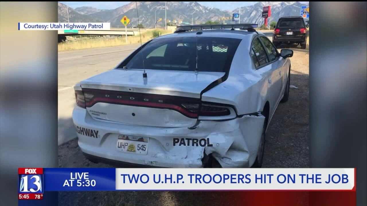 Man accused of crashing into UHP trooperarrested