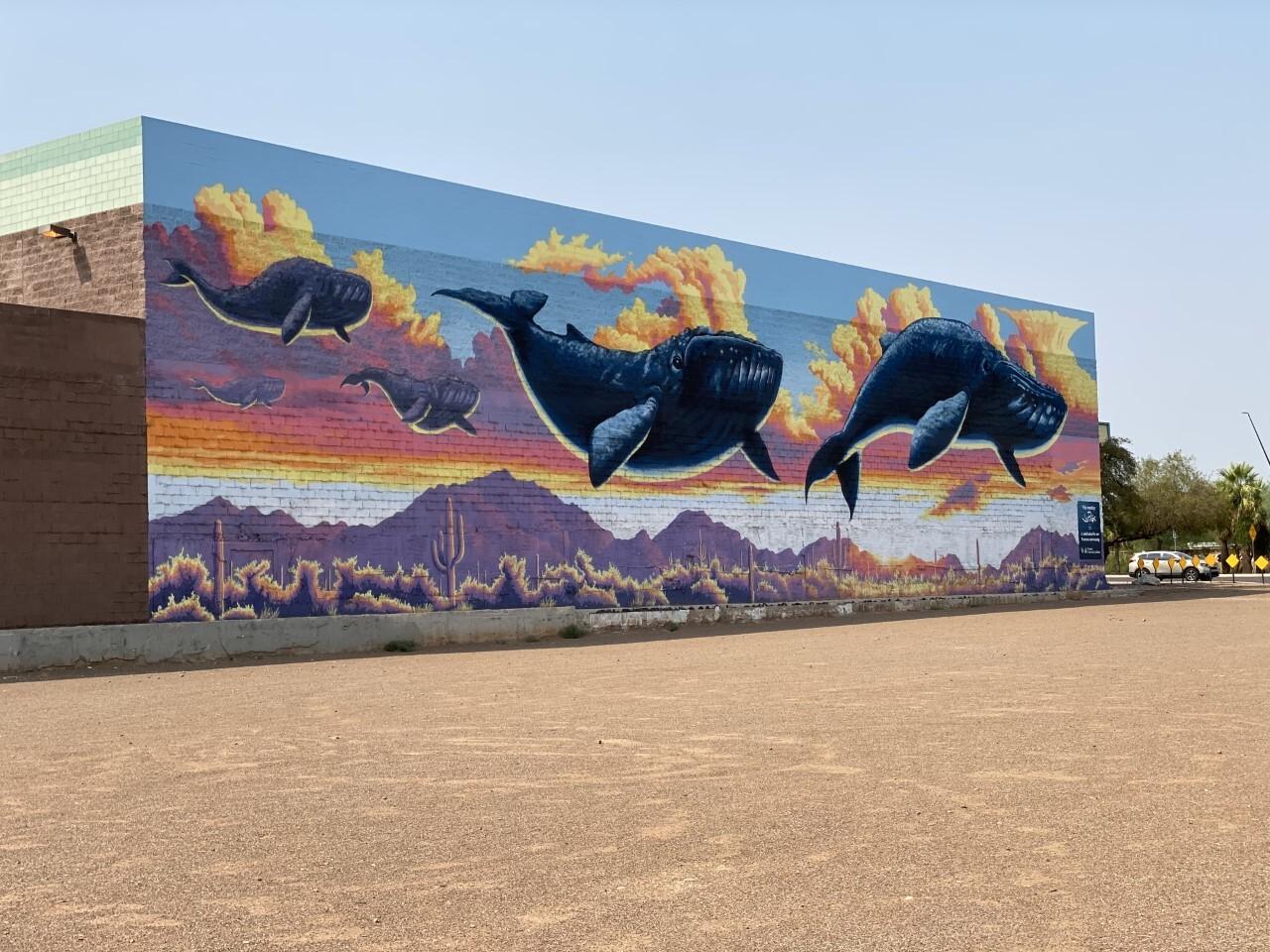 Muralist Joe Pagac