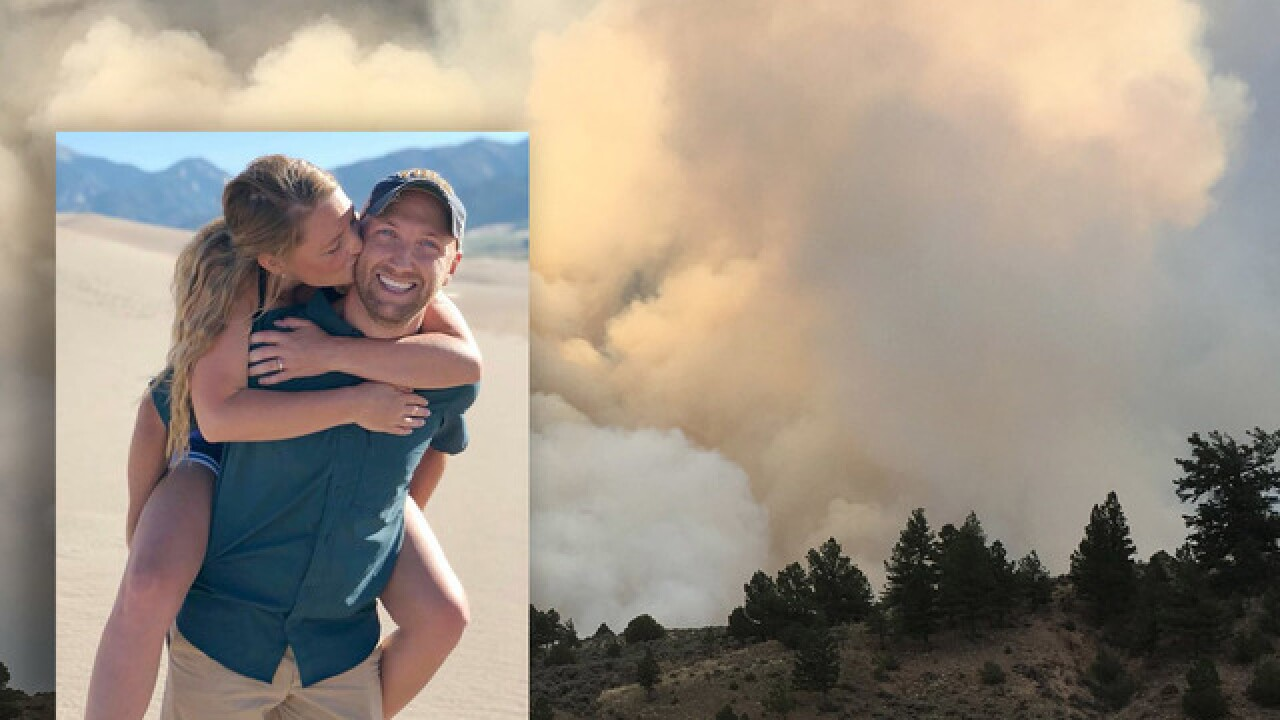 After Spring Fire evacuation disrupts original plan, man finds new route to propose to girlfriend