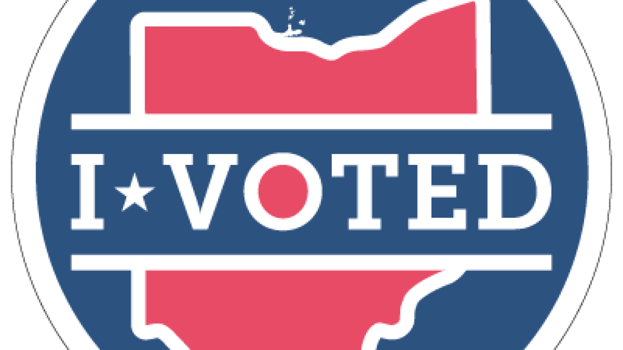 One new i voted sticker design