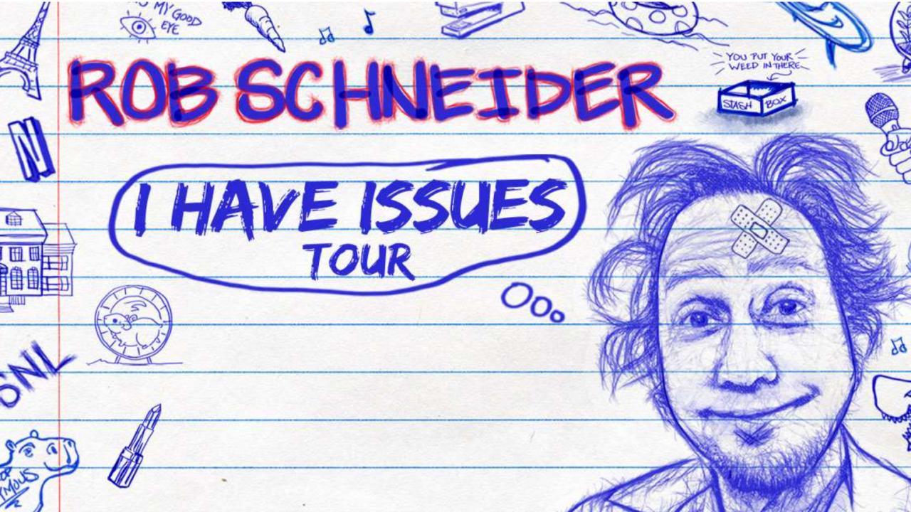 Rob Schneider Tour